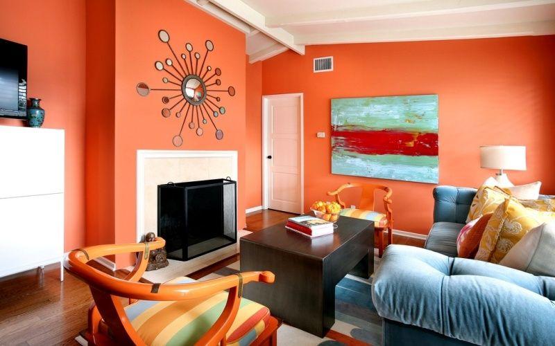 Оранжевый цвет по фэн шуй