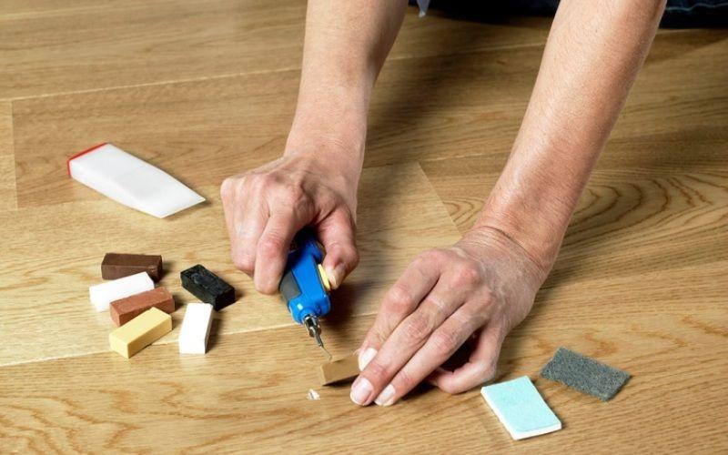 Как отремонтировать ламинат самостоятельно