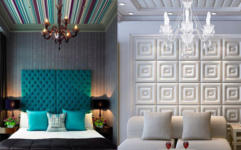 Как выбрать мягкие стеновые панели