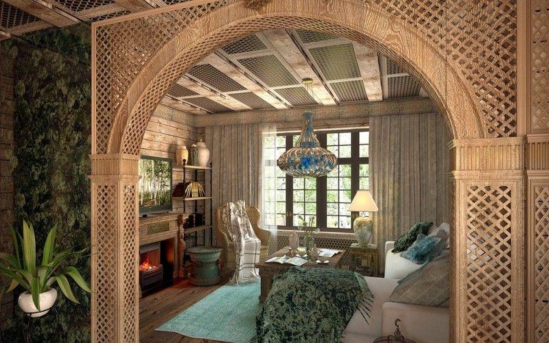 Плетеная арка