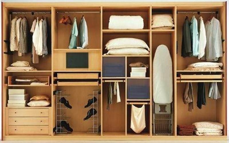 Как спланировать внутреннее оснащение шкафа