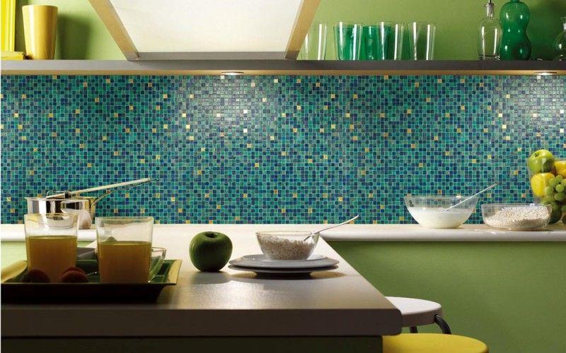 Мозаика на кухонном фартуке