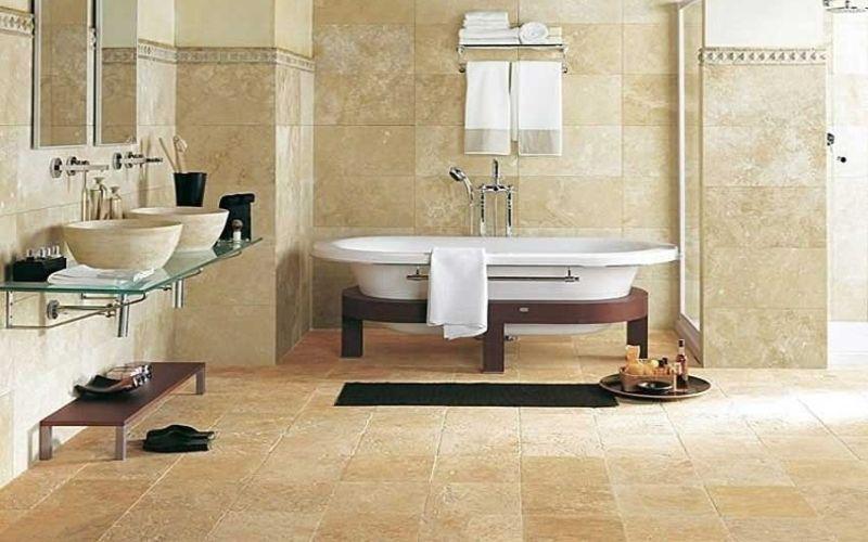 Материалы для пола в ванной: всегда ли плитка - лучший?