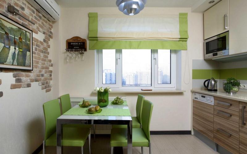 Кухня в зеленом цвете: оттенки, сочетания - Какого оттенка зеленый выбрать