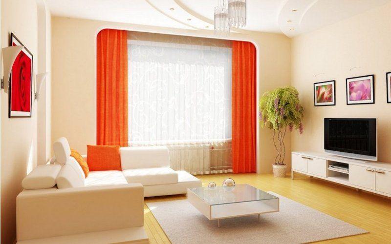 Гостиная в бежевых тонах - Декор в бежевой гостиной