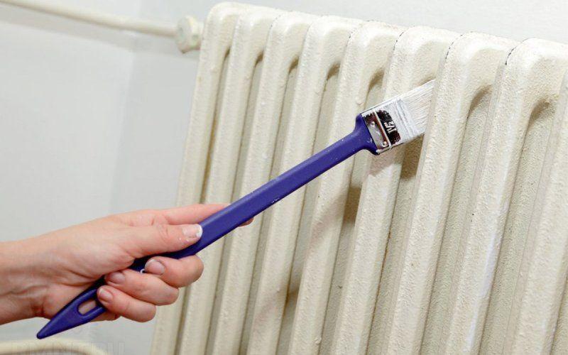 Какую краску выбрать для радиаторов отопления