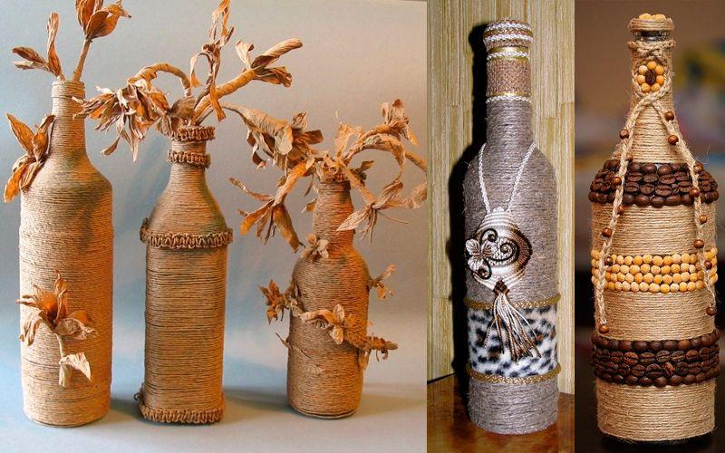 Декорирование вазы своими руками: фото-идеи