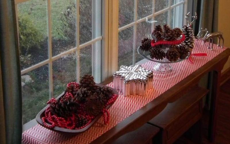 Чем украсить подоконник - Сезонный или тематический декор