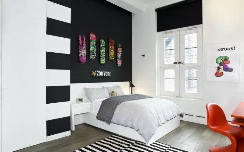 Детская комната в белых тонах, примеры