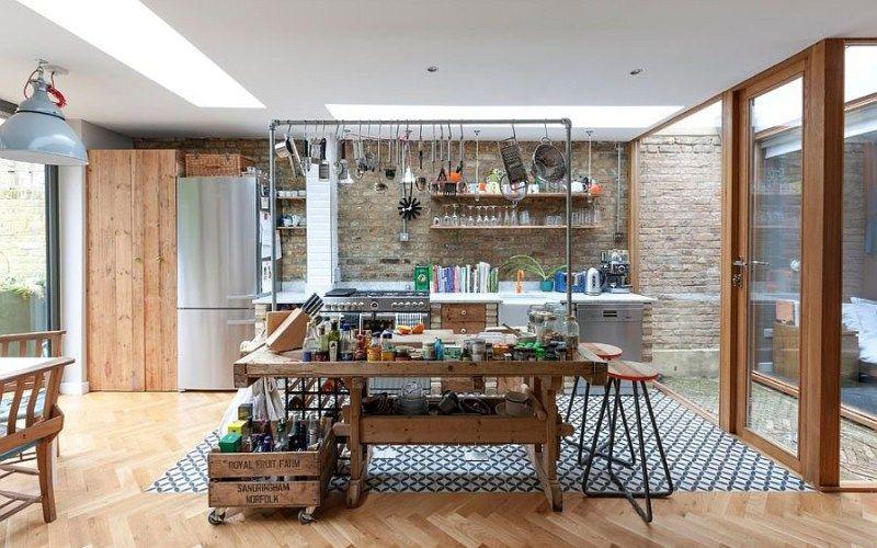Кухня в стиле лофт - Интерьеры
