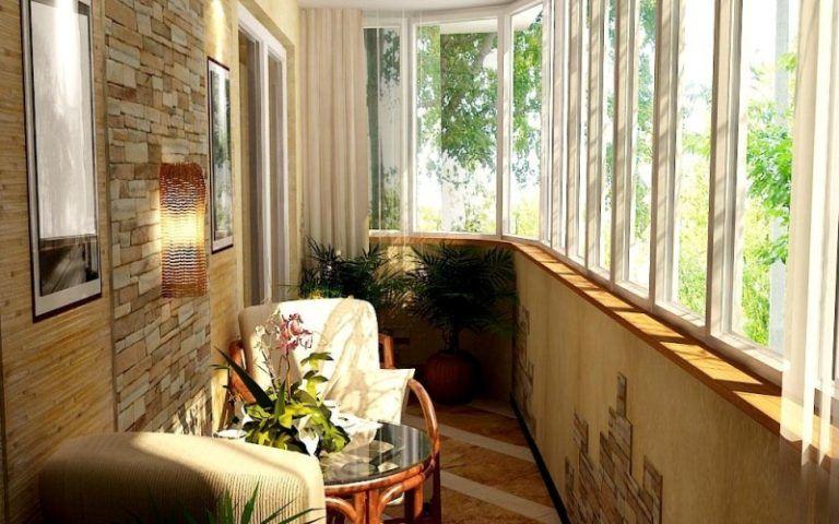 Дизайн интерьера балкона, правильная планировка и оформление.