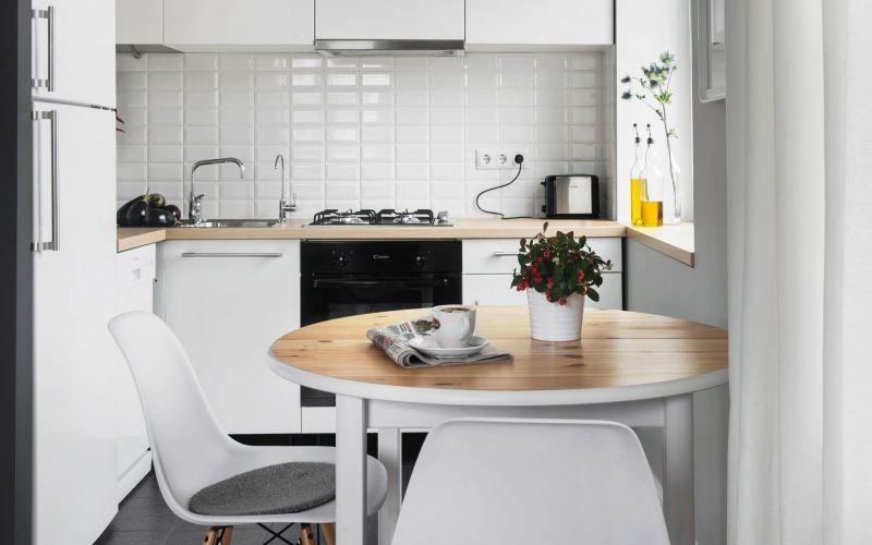 Маленькая угловая кухня - как спланировать