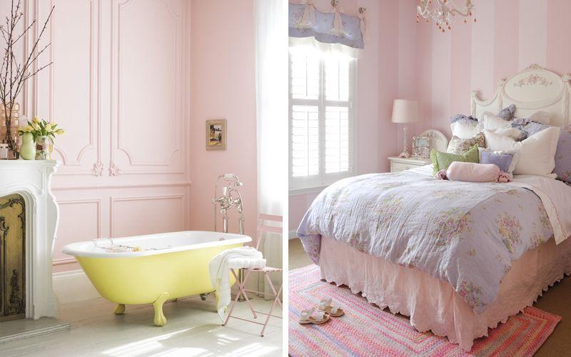 """Цвет """"Балетная туфелька"""" (Ballet Slipper) в интерьере - Розовый цвет в качестве основного"""