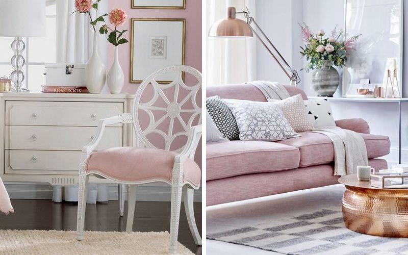 Цвет ballet slipper в мебели и текстиле