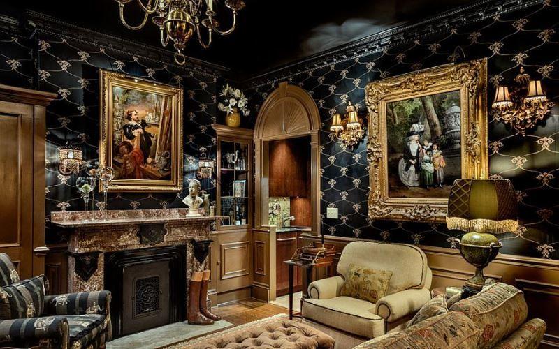 Роскошный викторианский интерьер: особенности дизайна