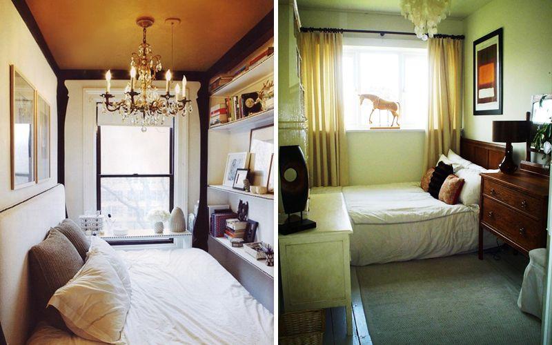 Особенности вытянутой узкой спальни