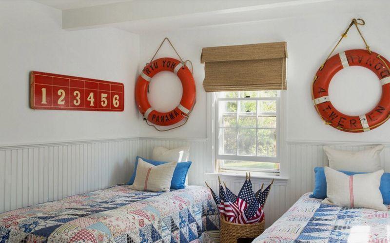 Как разместить две отдельные кровати в детской комнате (+30 фотоидей)