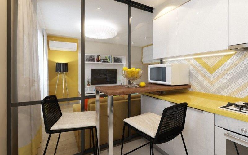 Квартира-студия 29 кв.метров: 5 проектов российских дизайнеров