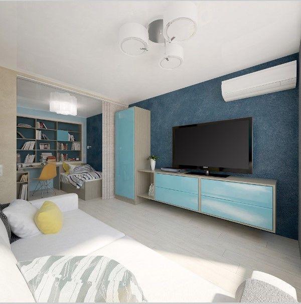 Квартира-студия 29 кв.метров - Жизнь в маленьком теле