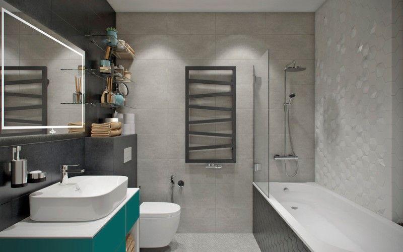 Отделка ванной комнаты 2018