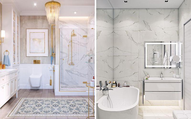 Белая ванная комната 2018