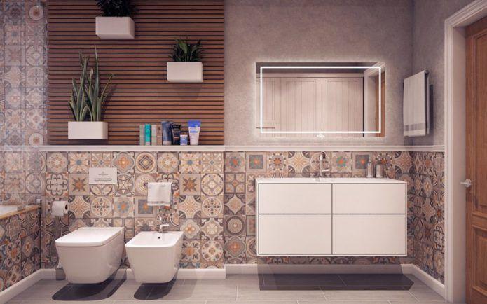 Интерьер ванной 2018 — современный дизайн в новом году (+90 фотоидей)