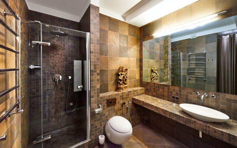 Дизайн ванной комнаты 2018