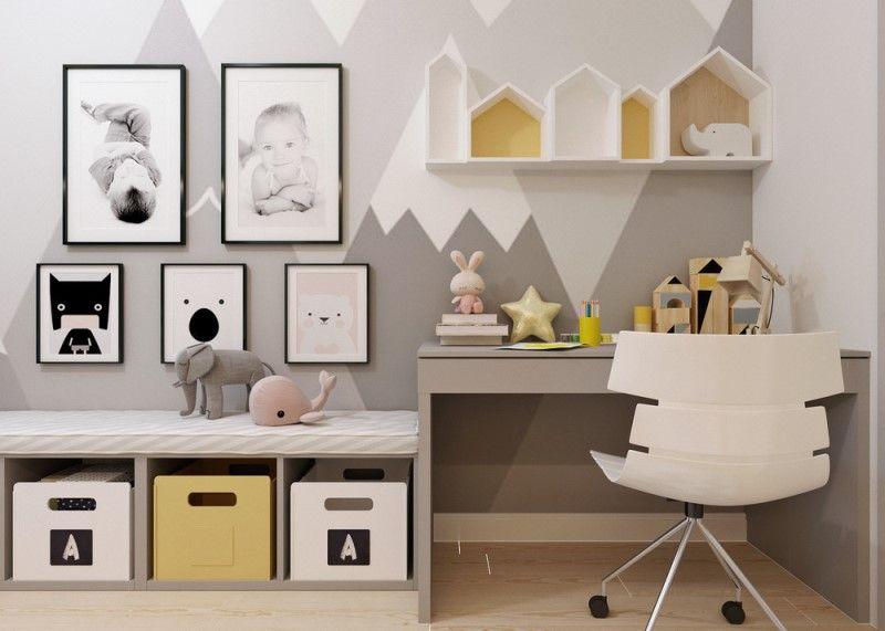 Как оформить детскую для двух детей - современный и модный дизайн-проект