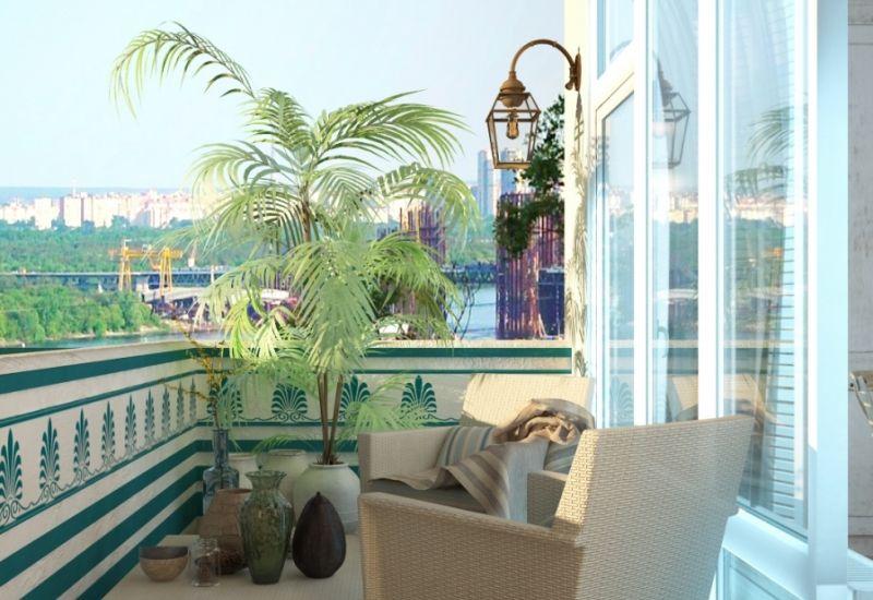 Средиземноморский интерьер квартиры в Киеве