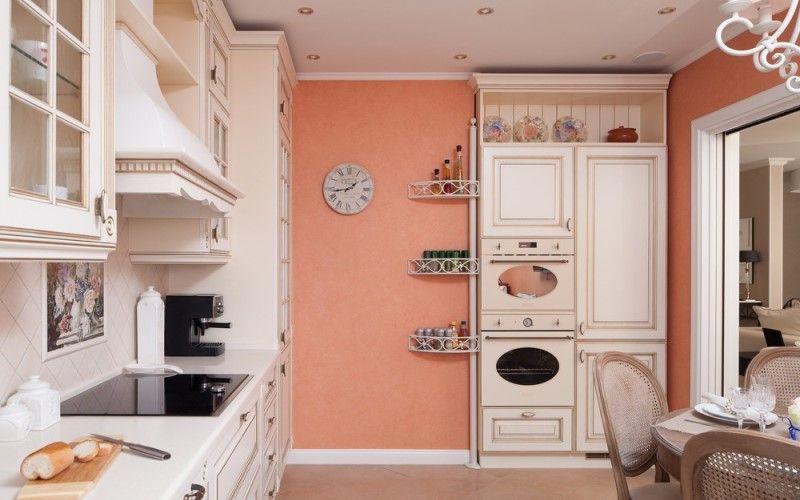 Какой цвет для кухни выбрать в 2018 году - Розовый на кухне