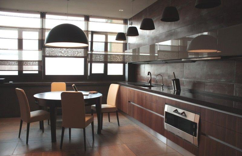Какой цвет для кухни выбрать в 2018 году - Черные кухни