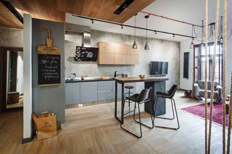 Какой цвет для кухни выбрать в 2018 году - серый на кухне