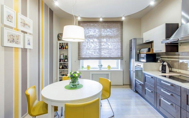 Какой цвет для кухни выбрать в 2018 году - Желтый на кухне