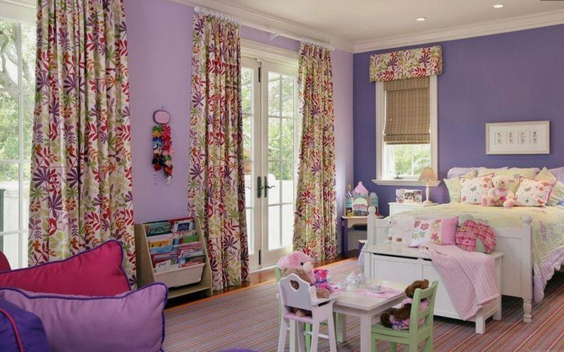 Детская в стиле прованс для девочки - 80 фото идей для создания деревенского интерьера