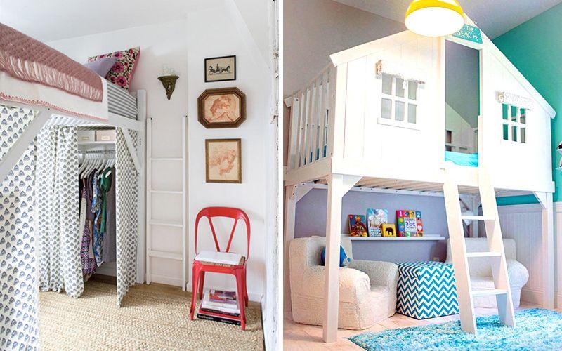 Как организовать спальное место для ребенка в однокомнатной квартире