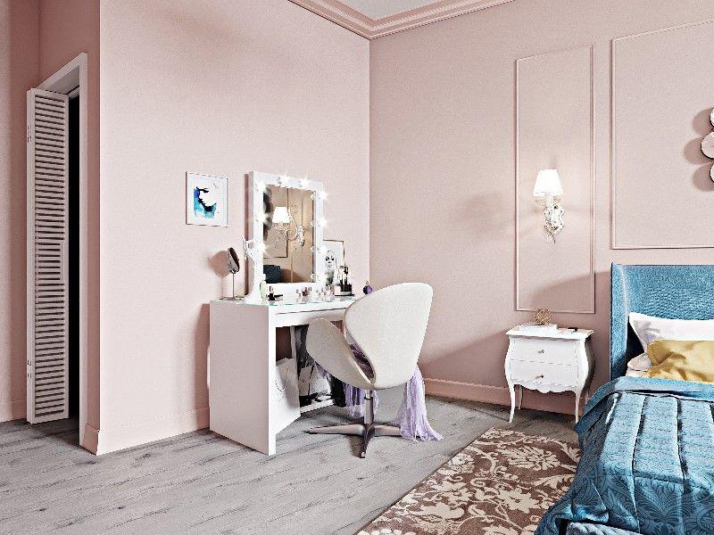 Интерьер в стиле эклектика в квартире 90 кв.метров
