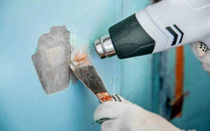 Как и чем удалить старую краску с разных поверхностей: снимаем водоэмульсионку и масляную краску