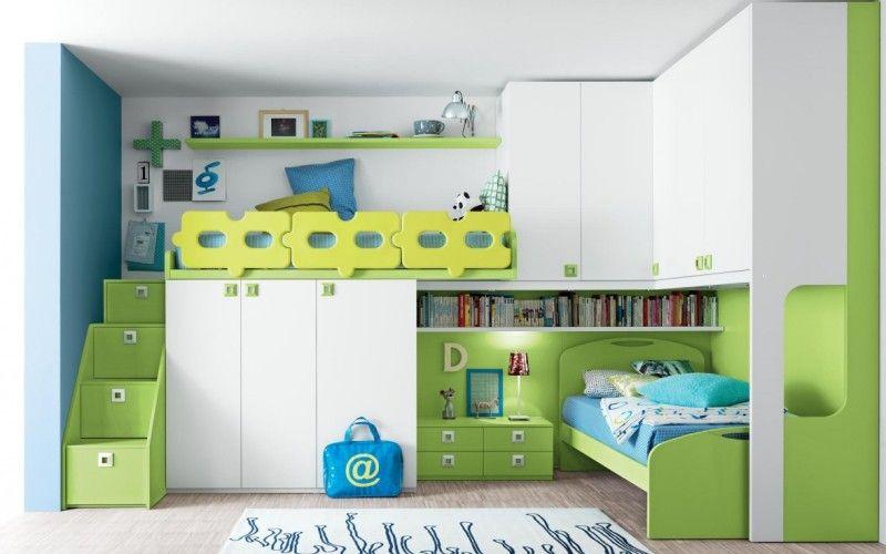 Как оформить комнату для двух мальчиков. Фото интерьеров