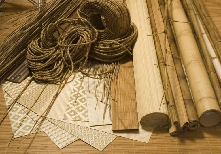 Бамбуковые обои - преимущества, недостатки, наклеивание