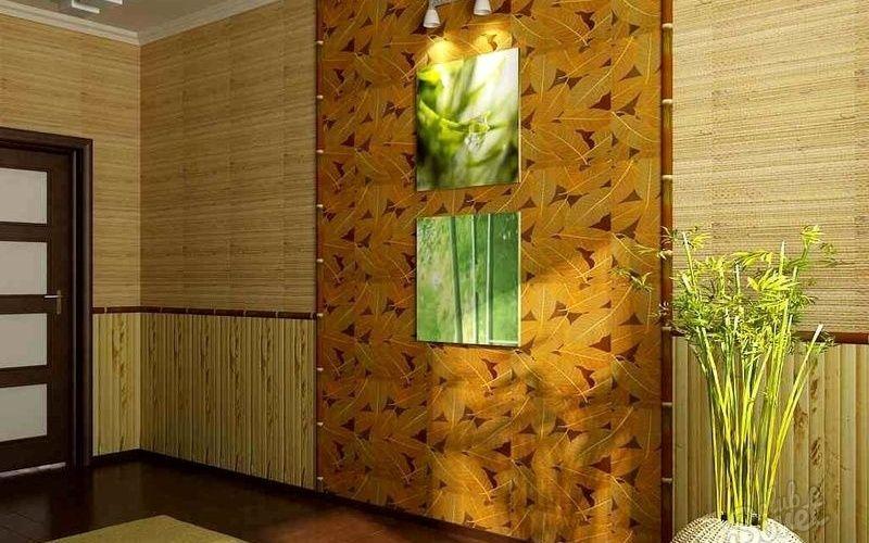 Бамбуковые обои, преимущества и недостатки