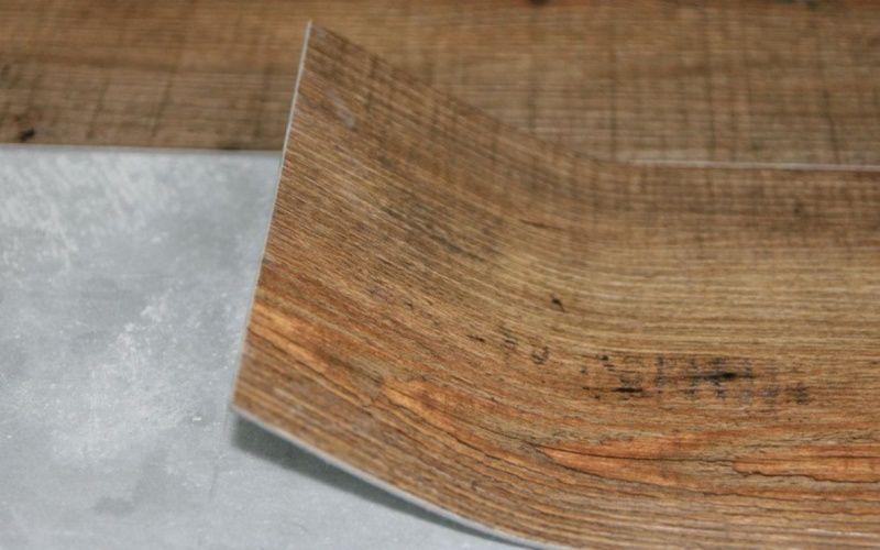 Виниловая плитка - идеальный вариант для кухни
