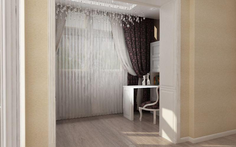 Как объединить лоджию с комнатой