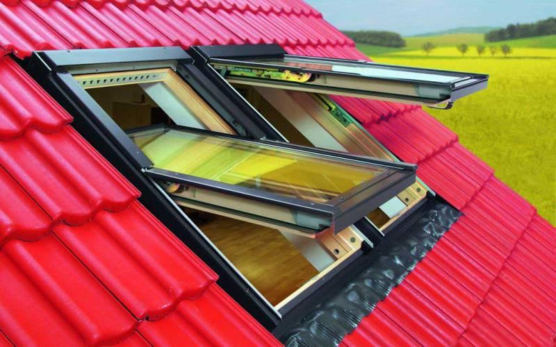 Окна в крыше должны быть надежными