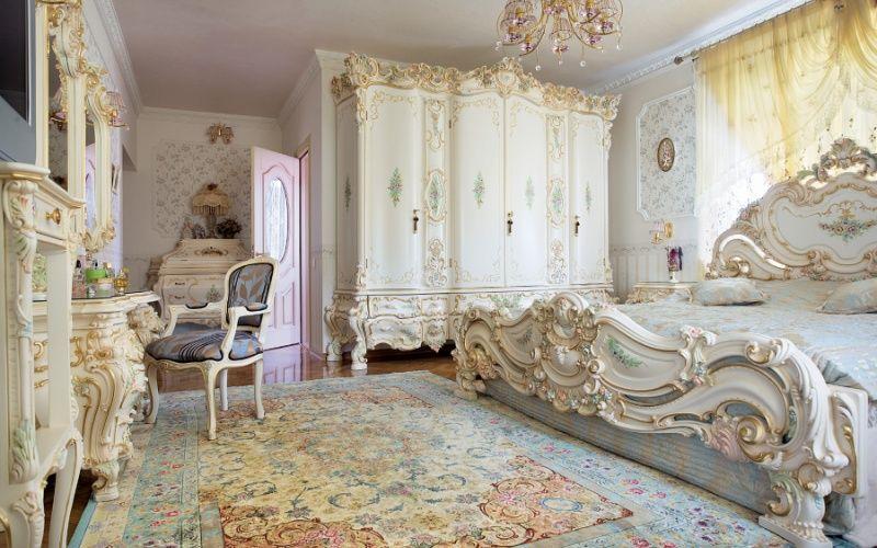 Спальня в стиле барокко: идеи и фото интерьеров