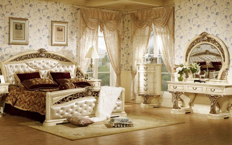 Мебель для спальни в стиле барокко