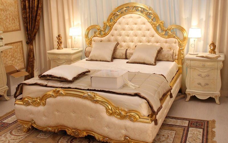 Декор для спальни барокко