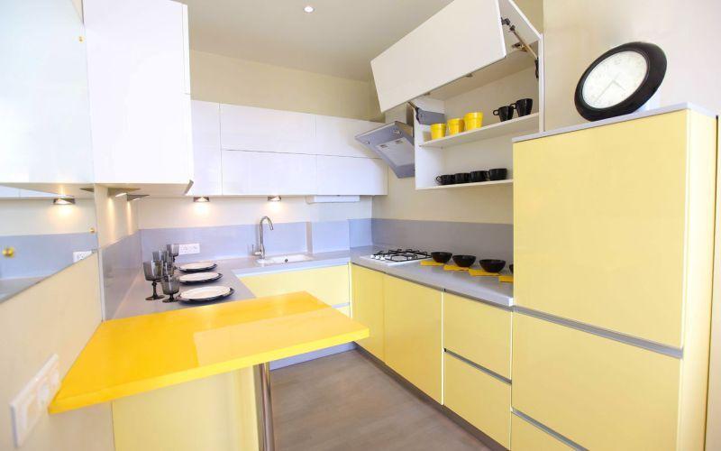Декор для желтой кухни