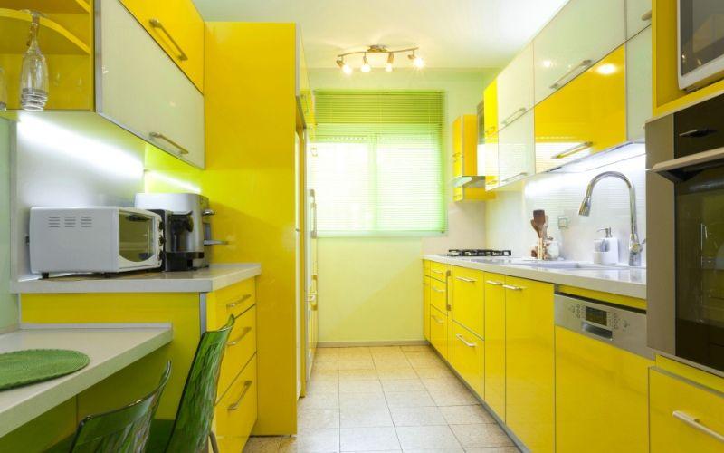 Желтый и салатовый