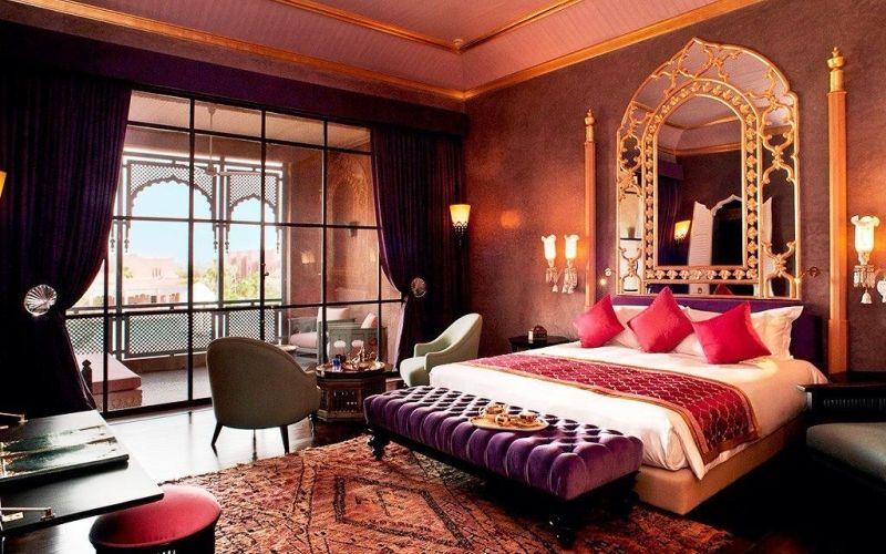 Мебель для спальни в восточном стиле