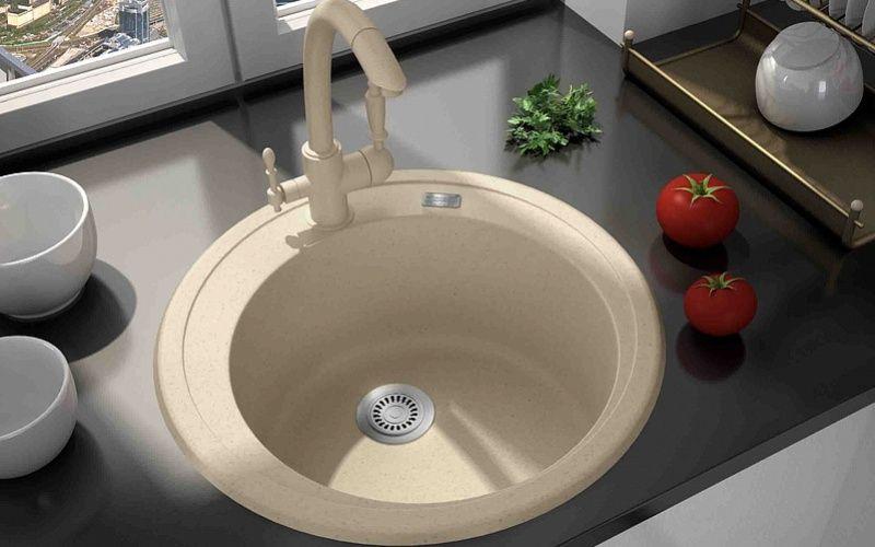 Форма кухонной мойки - Круглые или овальные мойки